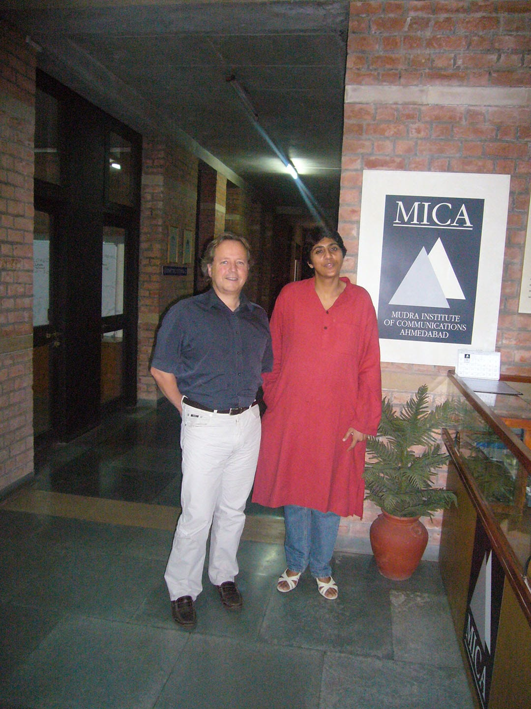 Chanddraputa Amritar Mudra Institute of communications Ahmedabad, Indien